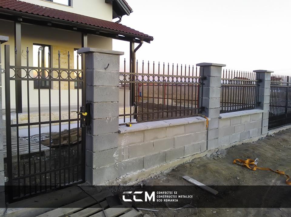 Porti si Garduri din Fier Forjat