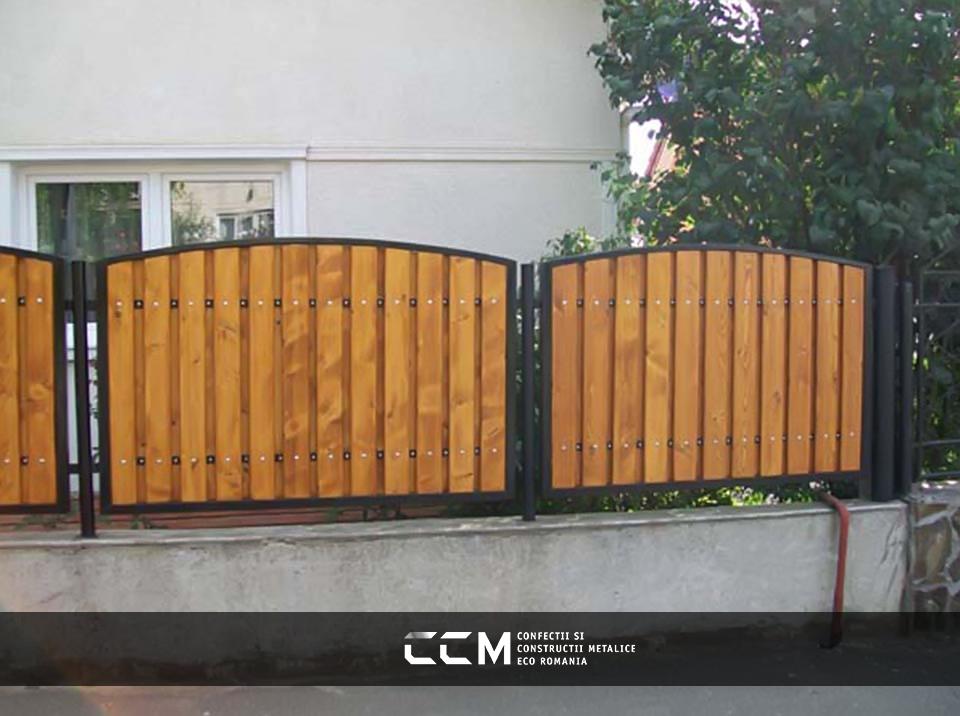 Porti si Garduri din Lemn
